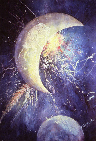 Buffalo Half-moon Poster