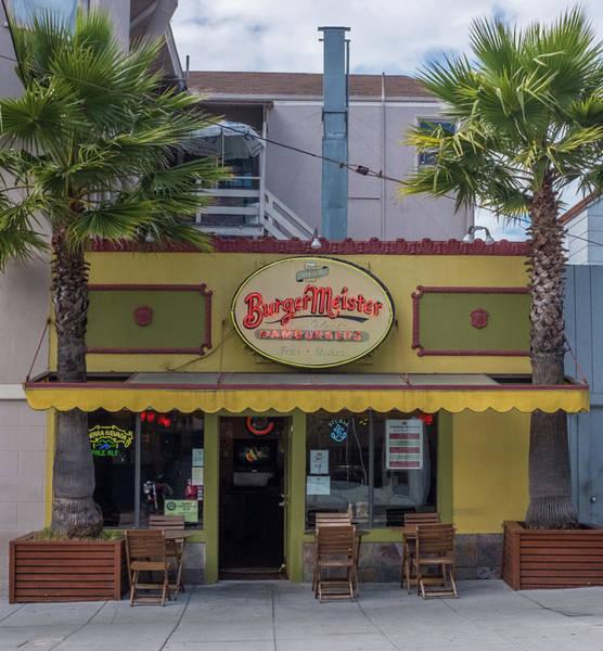 Burgermeister Restaurant, San Francisco Poster