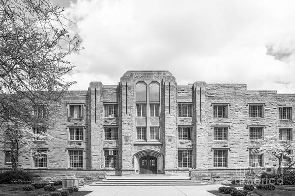 Butler University Schwitzer Residence Hall Poster
