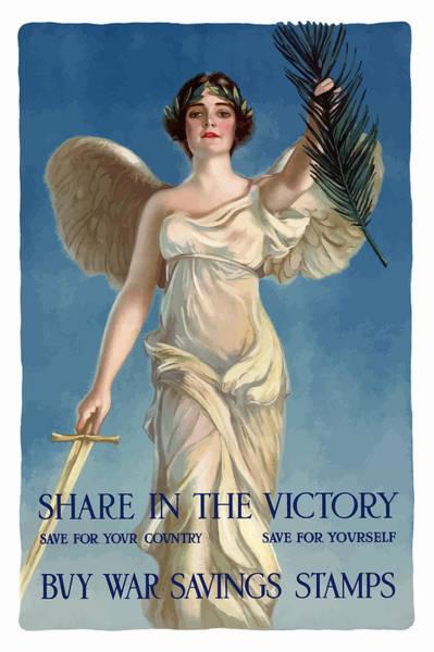 Buy War Savings Stamps Poster