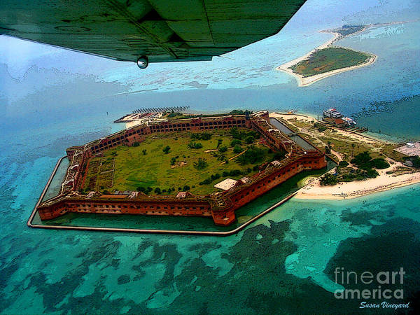 Buzzing The Dry Tortugas Poster