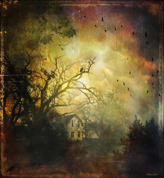 Bygone House On The Hill Poster