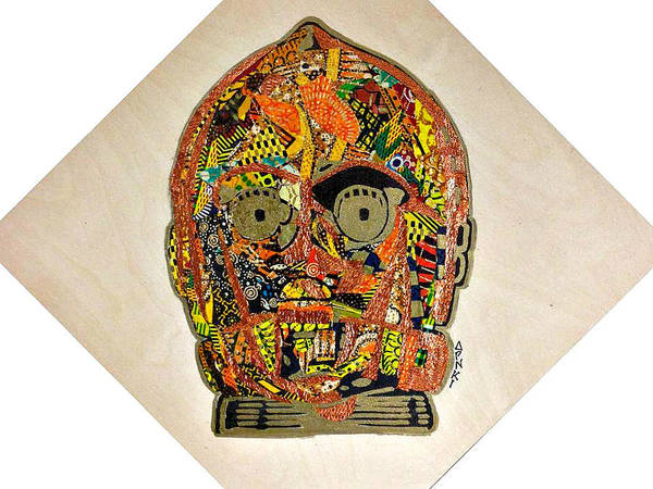 C3po Star Wars Afrofuturist Collection Poster