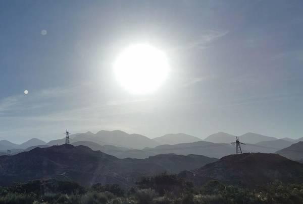 Cajon Pass Sunset Poster