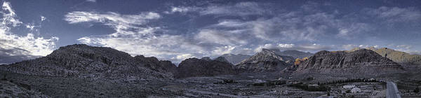 Calico Basin Panorama Poster