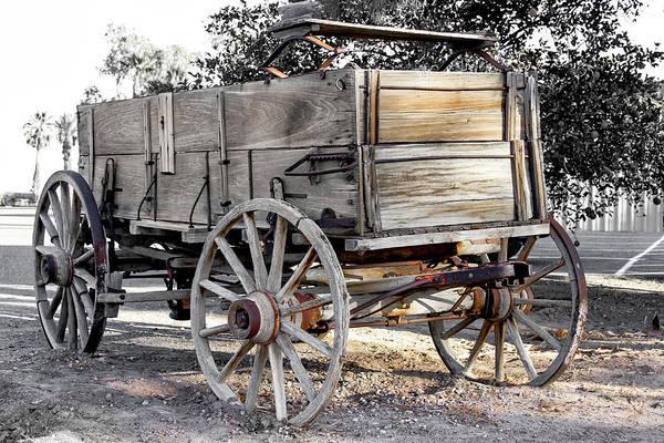 California Farm Wagon Poster