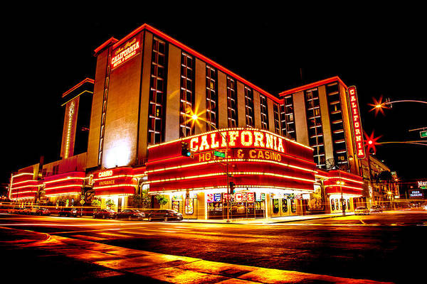 California Hotel Poster