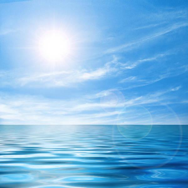 Calm Seascape Poster