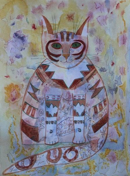Camo Cat Poster