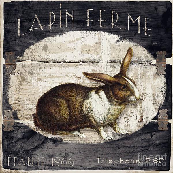Campagne Iv Rabbit Farm Poster