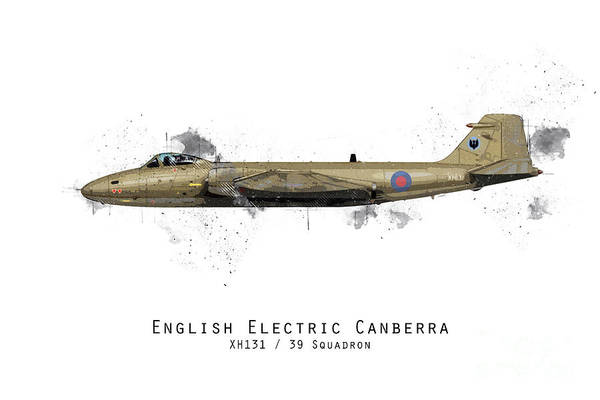 Canberra Sketch - Xh131 Poster
