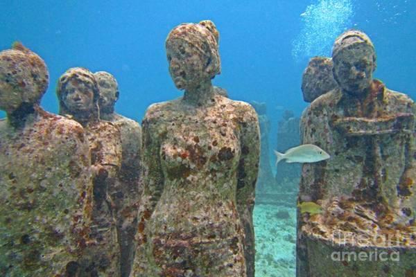 Cancun Underwater Museum Three Poster