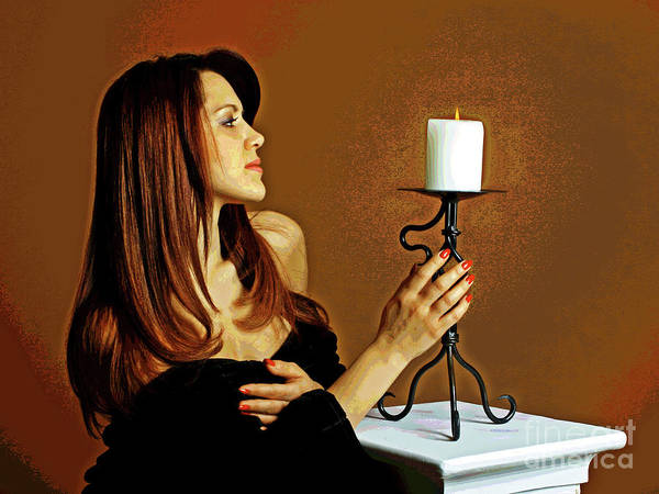 Candle Lights  Poster