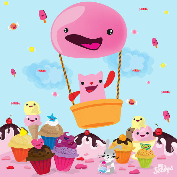 Candy World Poster