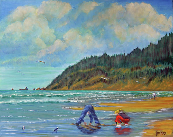 Cannon Beach Kids Poster