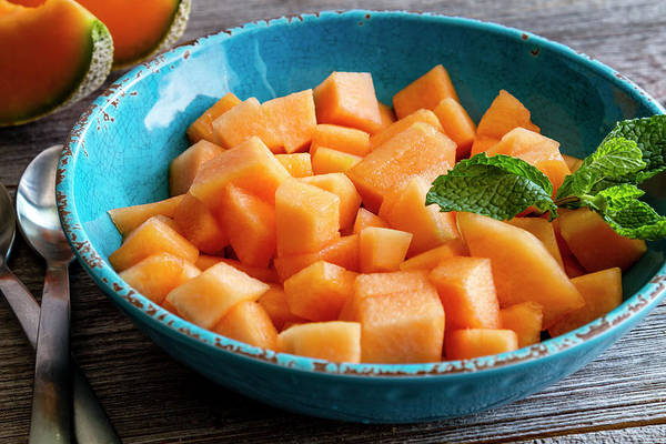 Cantaloupe For Breakfast Poster