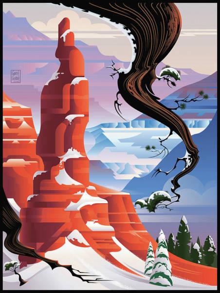 Bryce Canyon Christmas  Poster