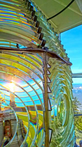 Cape Blanco Lighthouse Lens Poster