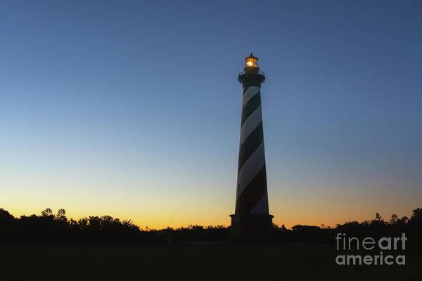 Cape Hatteras Silhouette Sunrise  Poster