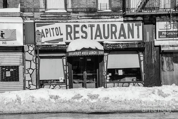 Capitol Restaurant Poster
