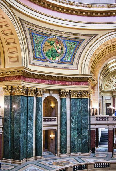Capitol Rotunda -madison - Wisconsin Poster