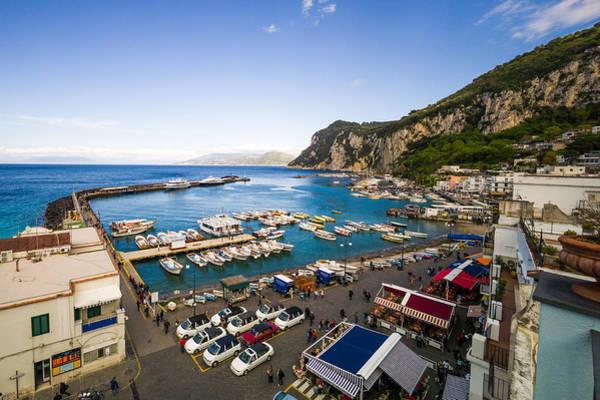 Capri Harbor Poster