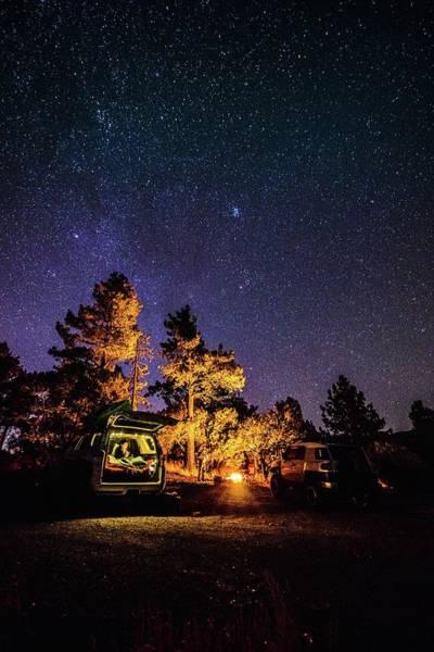 Car Camping Poster