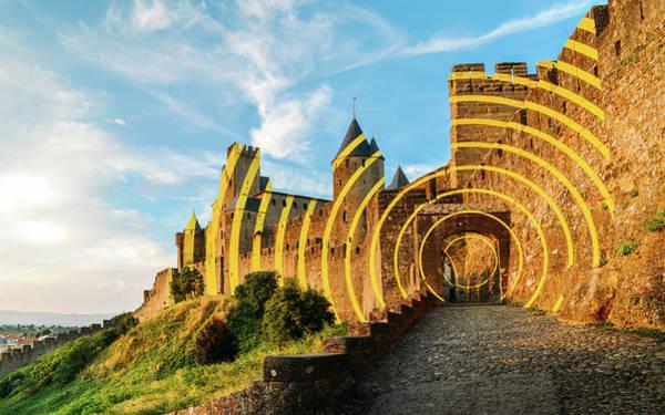 Carcassonne's Citadel, France Poster