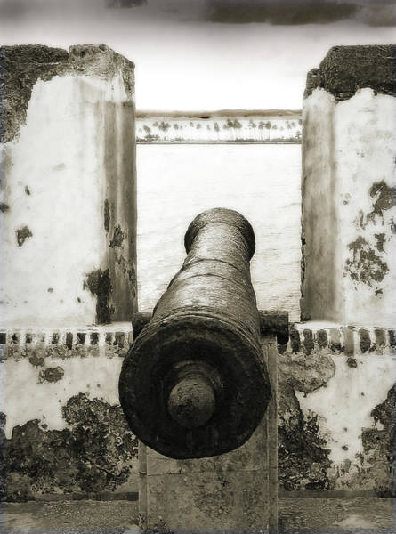 Caribbean Cannon Poster