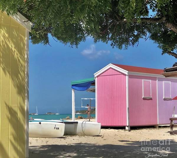 Caribbean Days Poster