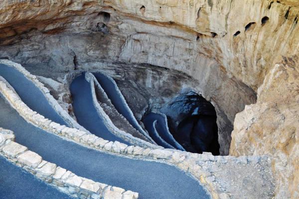 Carlsbad Caverns Natural Entrance Poster