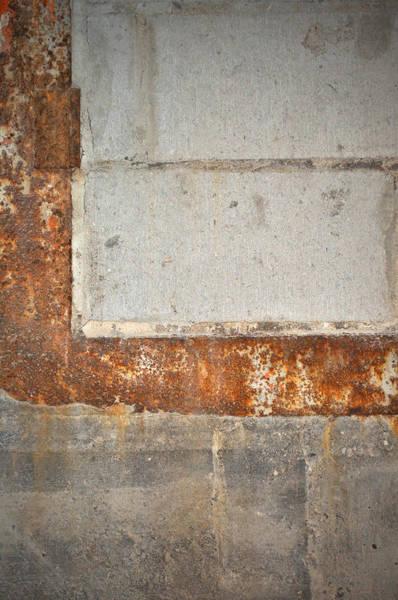 Carlton 14 - Abstract Concrete Wall Poster