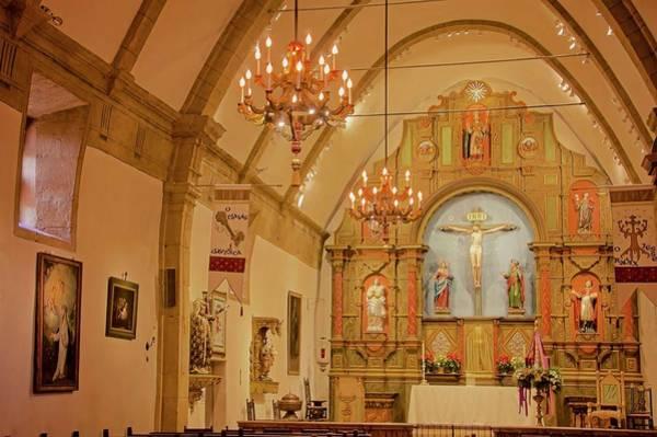 Carmel Mission, Mission San Carlos Borromeo Poster