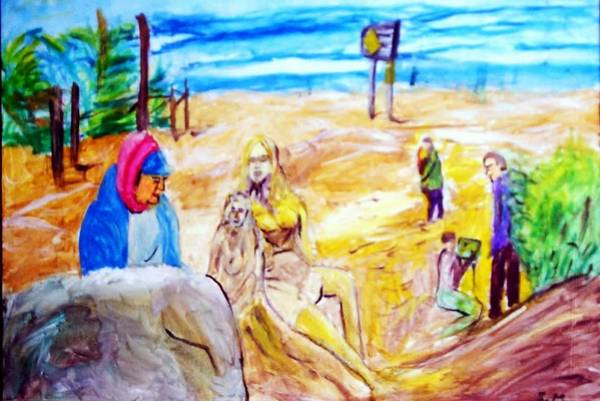 Carmel Sand Art Poster