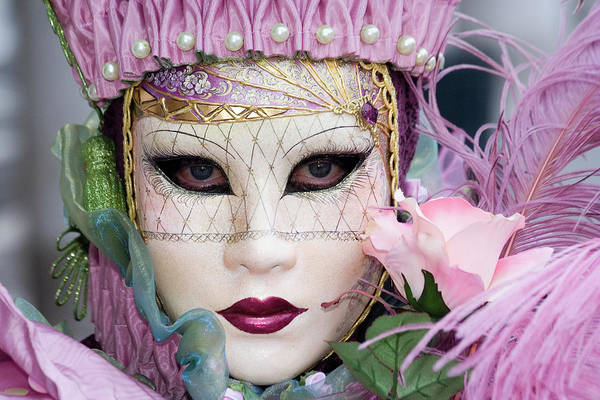 Carnival In Pink Poster
