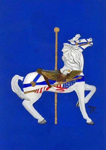 Carousel Horse #1 Poster