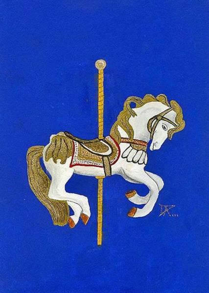 Carousel Horse #3 Poster