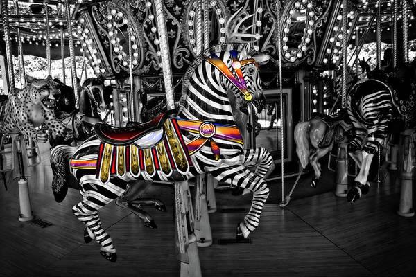 Carousel Zebra Series 2222 Poster