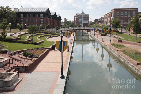 Carroll Creek Park In Frederick Maryland Poster