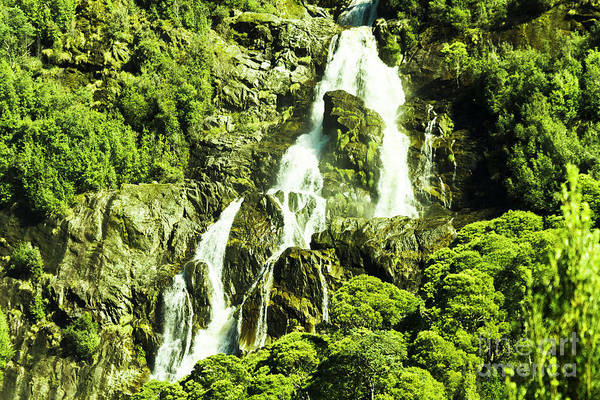 Cascading Falls Poster