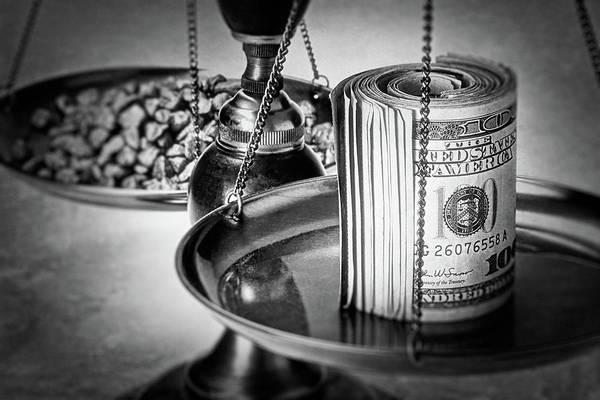 Cash Versus Gold Poster