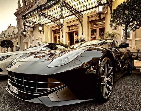 Casino Monte Carlo Vip Parking Poster