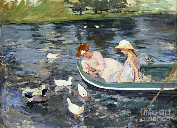 Cassatt: Summertime, 1894 Poster