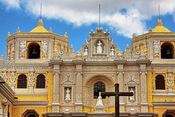 Cathedral In Antigua, Guatemala Poster