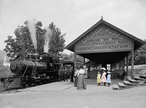 Catskill Railroad Poster