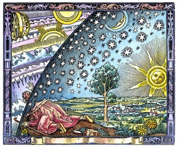Celestial Mechanics, Medieval Artwork Poster