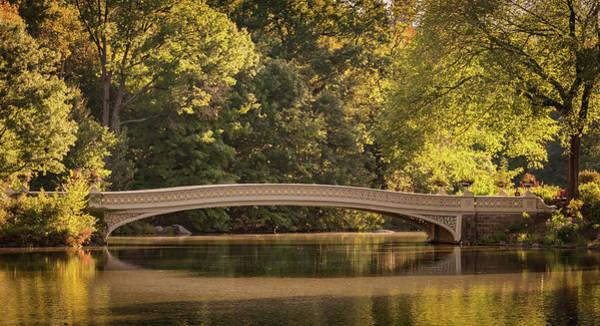 Central Park Bridge Poster