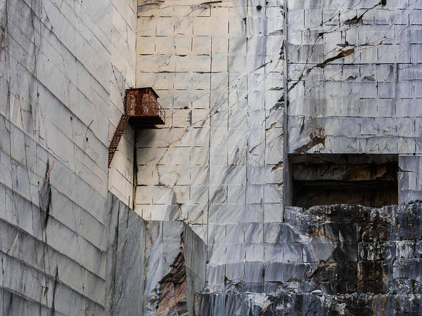 Cervaiole Quarry - Apuan Alps, Tuscany Italy Poster