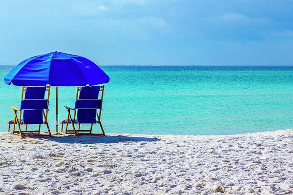 Beach Chair Pair Poster