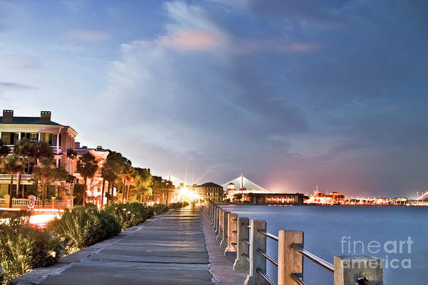 Charleston Battery Photography Poster